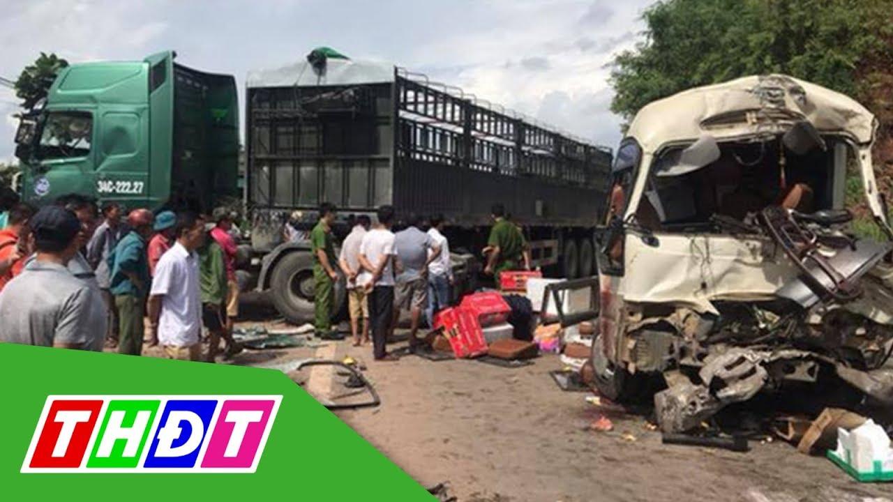 Sơn La: Tai nạn giao thông nghiêm trọng, 12 người bị thương | THDT