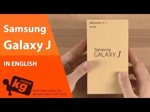 [EN] Samsung Galaxy J Unboxing [4K]