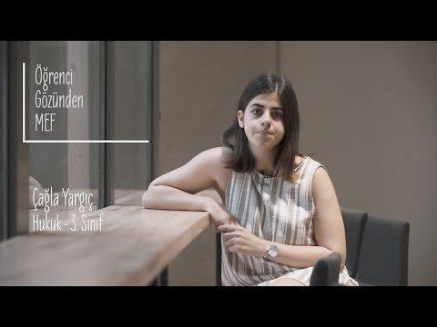 Öğrenci Gözünden MEF Üniversitesi / Çağla Yargıç - Hukuk