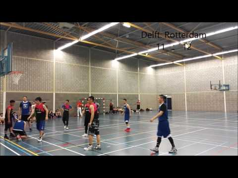 2017 ACSSNL Basketball Tournament: Rotterdam vs Delft Group Match