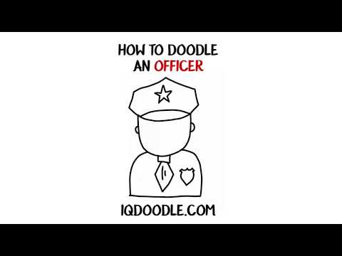 How to Draw an Officer (drawing tips)