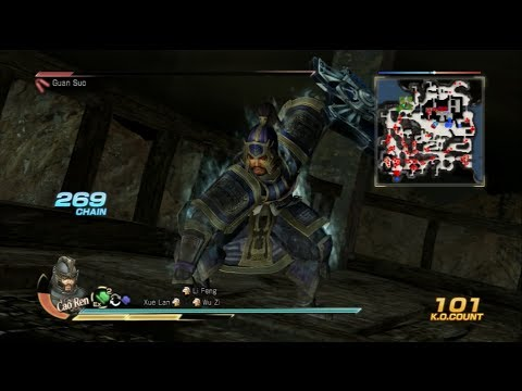 Dynasty Warriors 8: Xtreme Legends - Cao Ren 6 Star Weapon Guide