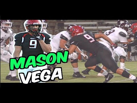 6'4 260 OLB-DE Mason Vega - Chaffey College (CA) - Dec Grad. Mid Season Highlights