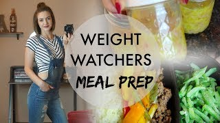 Weight Watchers Meal Prep | Taco Bowls, Omelette in a Jar