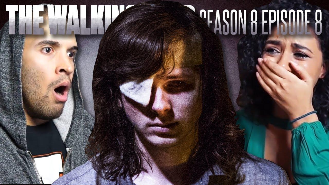 The Walking Dead Season 8 Episode 8 Carl Fan Reaction Compilation
