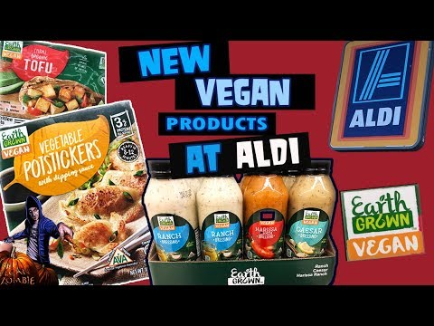 New Vegan Products At Aldi On A Budget
