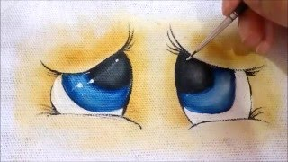 Vídeo aula 1 – Como pintar olhinho