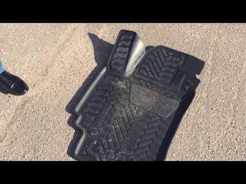 Коврики в автомобиль резиновые, модельные, 3D