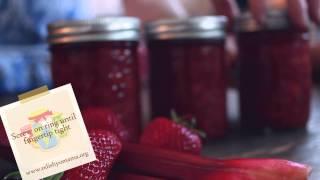 Relish Yo' Mama Presents ... Strawberry Rhubarb Jam