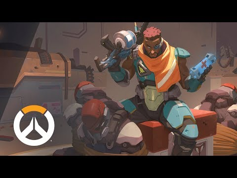 [NEW HERO – COMING SOON] Baptiste Origin Story | Overwatch