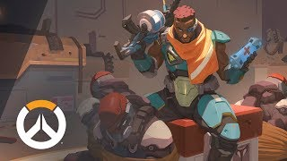 [NEW HERO – NOW PLAYABLE] Baptiste Origin Story | Overwatch