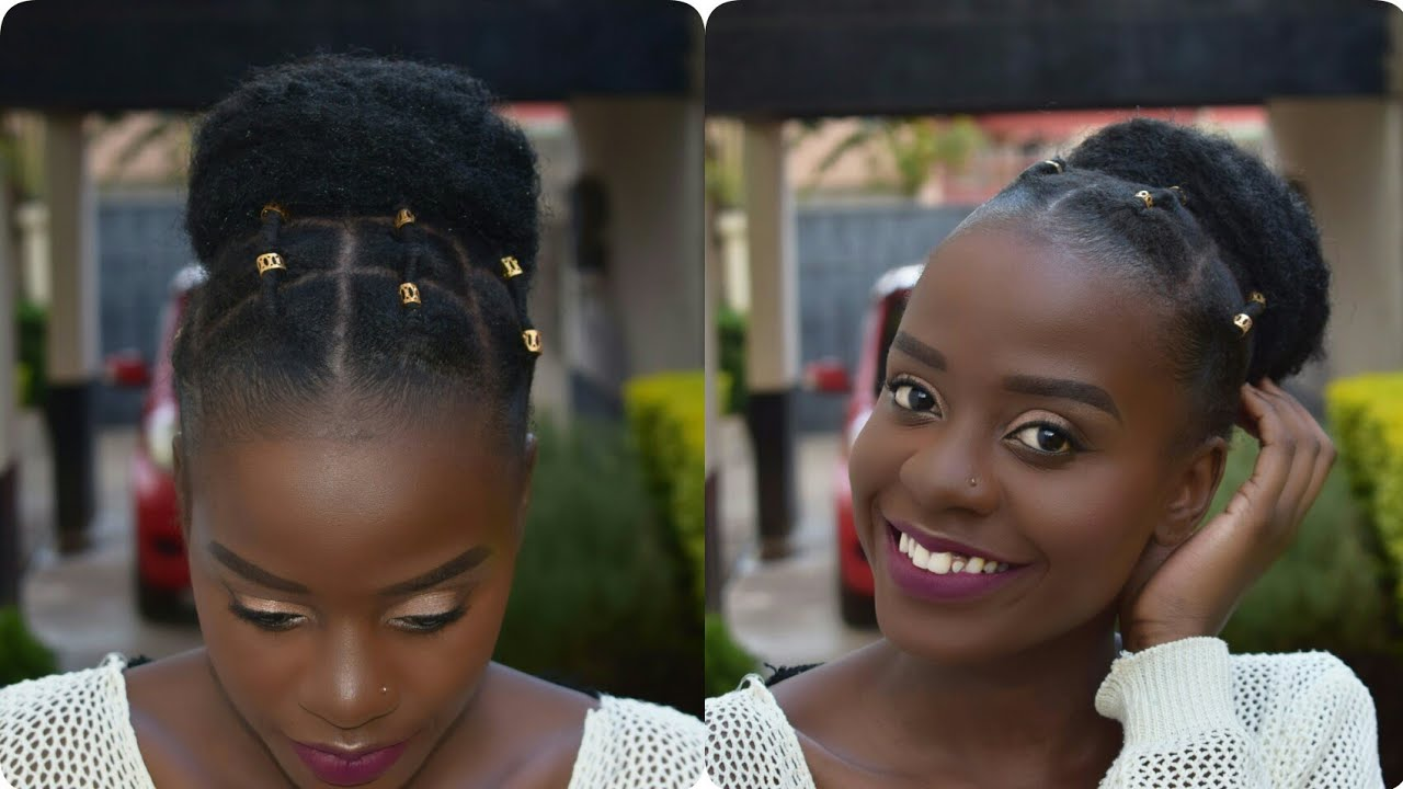 Quick And Easy Protective Styles For Short Natural Hair