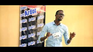 Ngenzi yvan-Ardor records First Audition