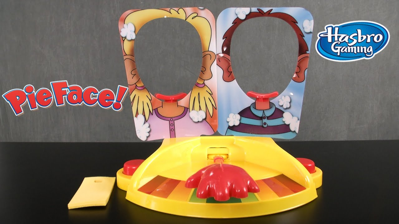 Pie Face Showdown Game [Review & Instructions]   Hasbro ...