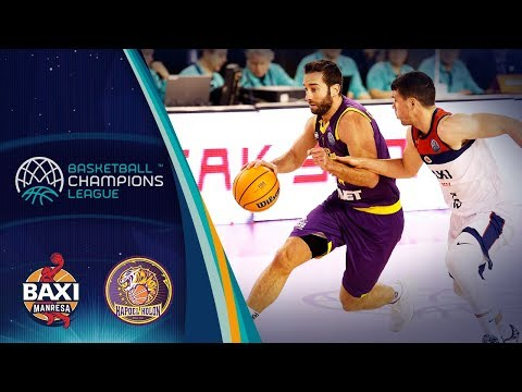 BAXI Manresa v UNET Holon - Highlights - Basketball Champions League 2019-20
