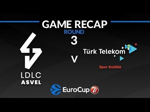 Highlights: LDLC ASVEL Villeurbanne - Turk Telekom Ankara