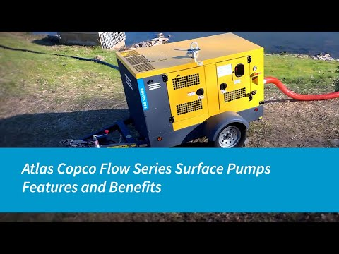 Atlas Copco Flow Series Surface Pumps | Features And Benefits