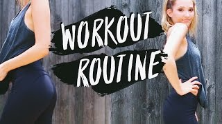 Workout Routine 2016! How to Be Fit and Healthy! Michelle Reed