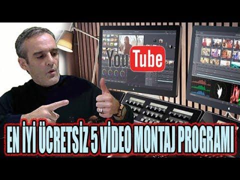 En İyi 5 Ücretsiz Video Montaj Programları 2018