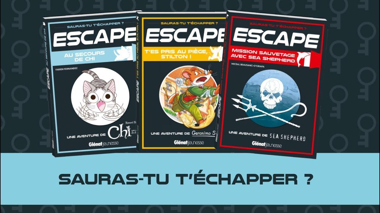 Escape La Nouvelle Collection De Livre Jeu