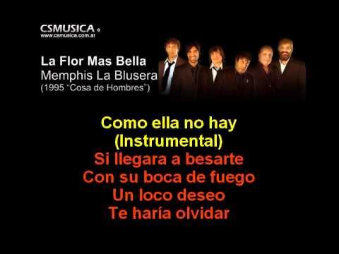 Memphis - La Flor Mas Bella - Karaoke