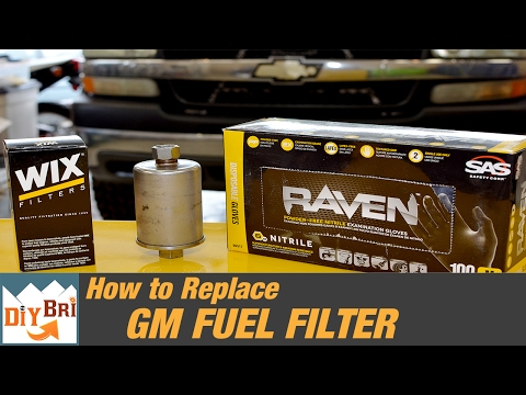 [SCHEMATICS_4PO]  How To Replace a Fuel Filter on a Chevy Truck | 2006 & Older - YouTube | Chevy Truck Fuel Filter Location |  | YouTube