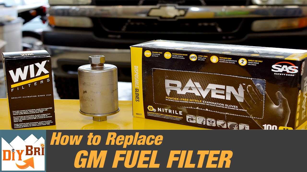 how to replace a fuel filter on a chevy truck 2006. Black Bedroom Furniture Sets. Home Design Ideas