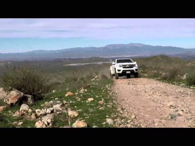 2015 Chevy Colorado Suspension System