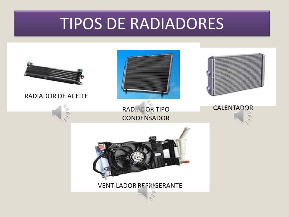 tipos y caracteristicas de radiadores youtube