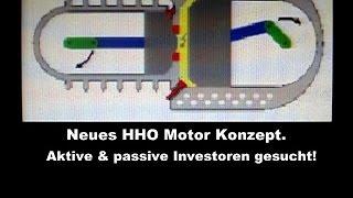 Aktiv passiv Investieren in Wasserstoff Motor Projekt.