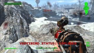 Fallout 4 - Vertibirds Crash For No Reason