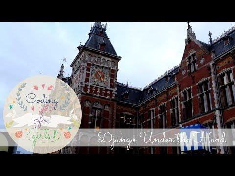 Conference vlog: Django Under the Hood in Amsterdam.