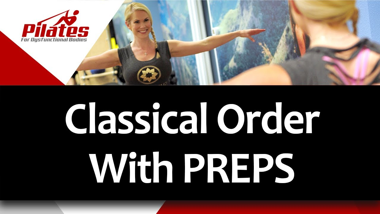 Classical Order with Prep work