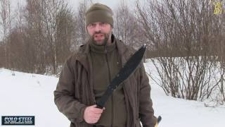 мАЧЕТЕ Cold Steel 97 MKM против ТОПОРА