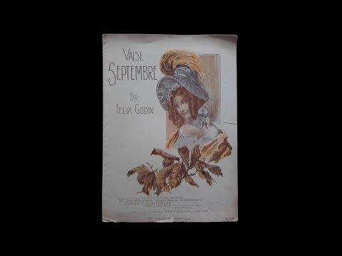 Valse Septembre - Felix Godin (Vintage sheet music)