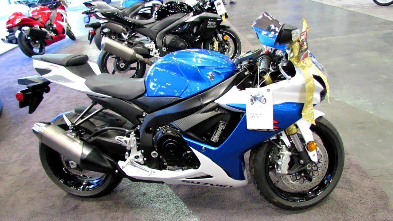 2014 Suzuki GSX-R750 Walkaround - 2013 New York Motorcycle Show ...
