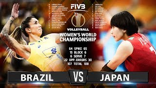 Japan vs Brazil - Highlights | Women's World Championship 2018
