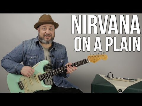 Nirvana - On a Plain - Guitar Lesson, How to Play