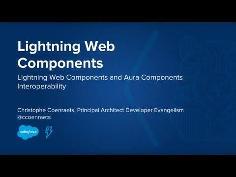 Lightning Web Components: Aura Component Interoperability