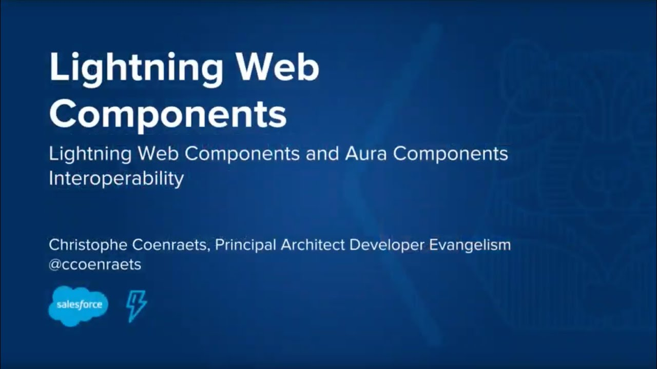 Lightning Web Components: Aura Component Interoperability