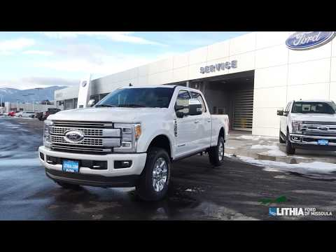 Ford Super Duty F  Pickup Platinum D