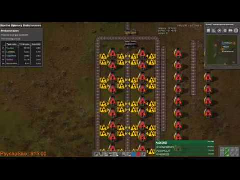 Factorio Multiplayer Production Challenge! With AntiElitz, Rain, Bilka, Mojo & Supporters!