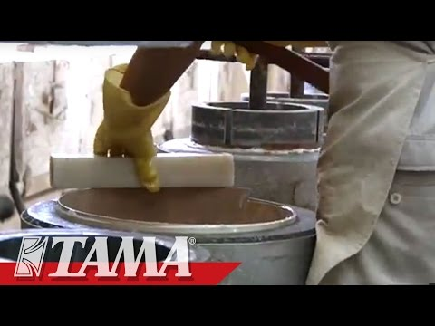 TAMA Drums Factory in China.