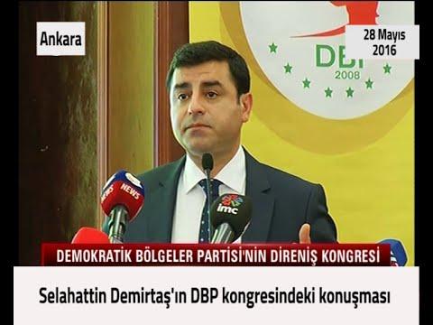 DBP Kongresi konuşması - 28 Mayıs 2016