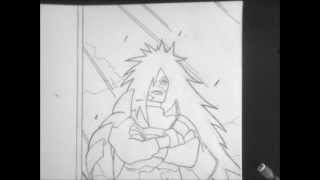 How To Draw Madara Uchiha Resurrection Form