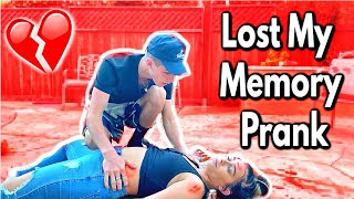 I LOST MY MEMORY ON BOYFRIEND *HE WAS MAD*
