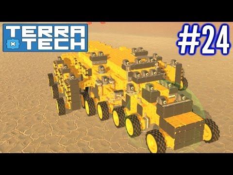 Terratech | Ep 24 | Geocorp Megaton Cannon Build!