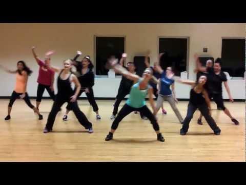 Dance Fitness Choreography Feel This Moment Pitbull ft Christina Aguilara