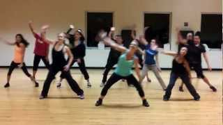 "Dance Fitness Choreography ""Feel This Moment"" Pitbull ft Christina Aguilara"