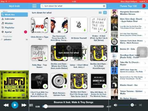 İpad' de ücretsiz müzik indirme programı
